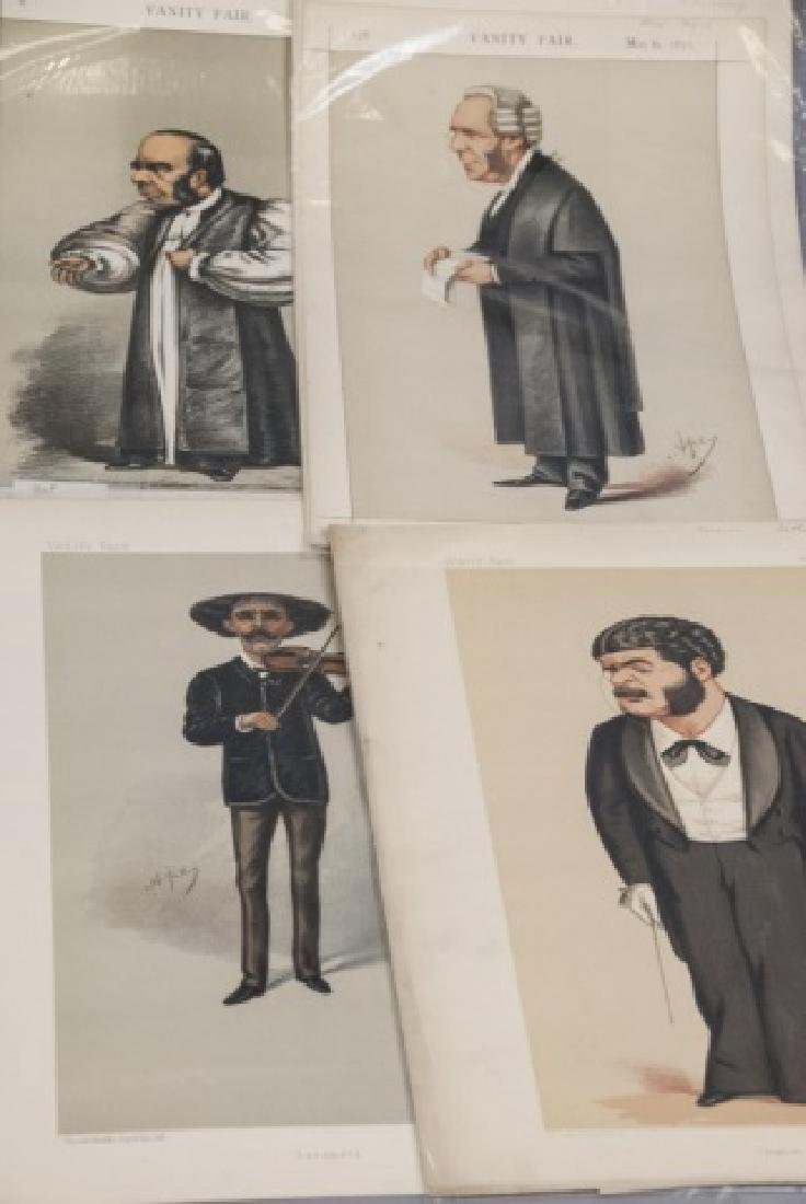 19th Century Vanity Fair APEY Lithography Prints, - 3