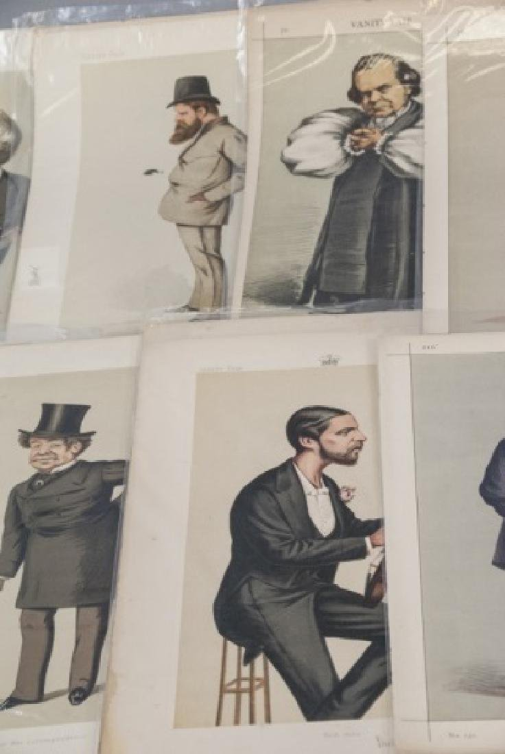 19th Century Vanity Fair APEY Lithography Prints, - 6