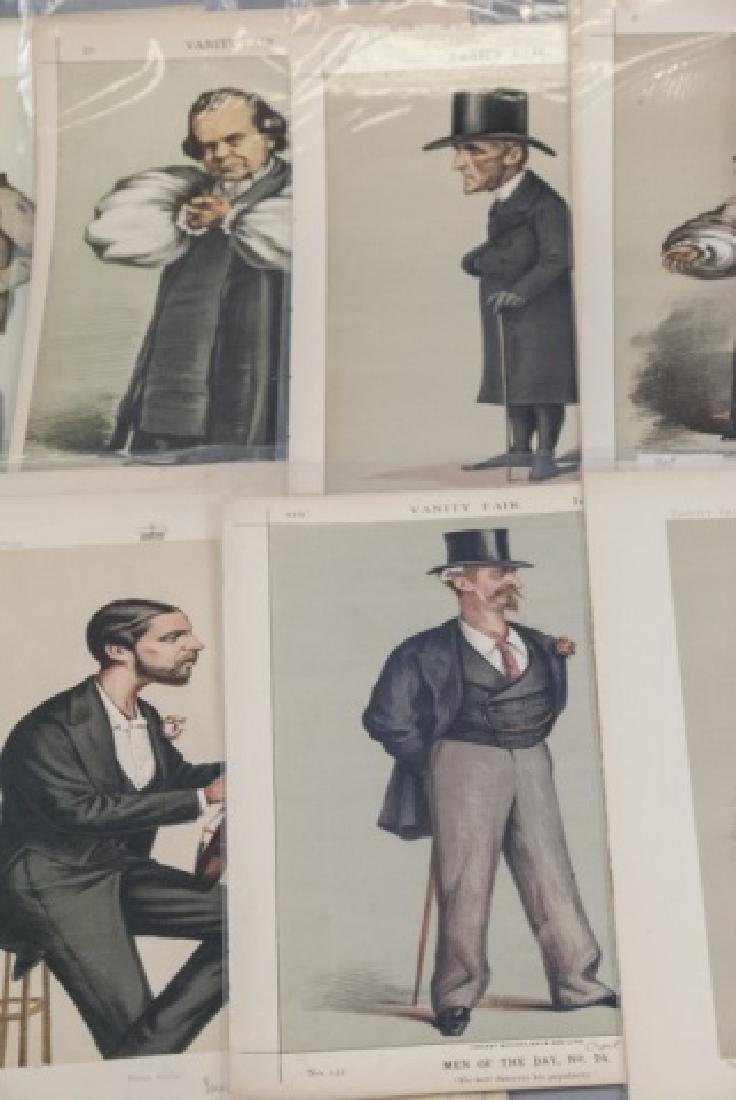 19th Century Vanity Fair APEY Lithography Prints, - 7