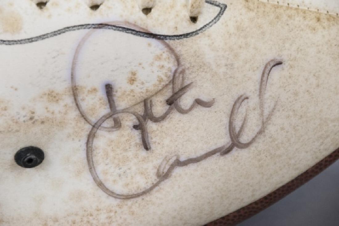 Joe Namath & 2002 Heisman Winner Signed Footballs - 2