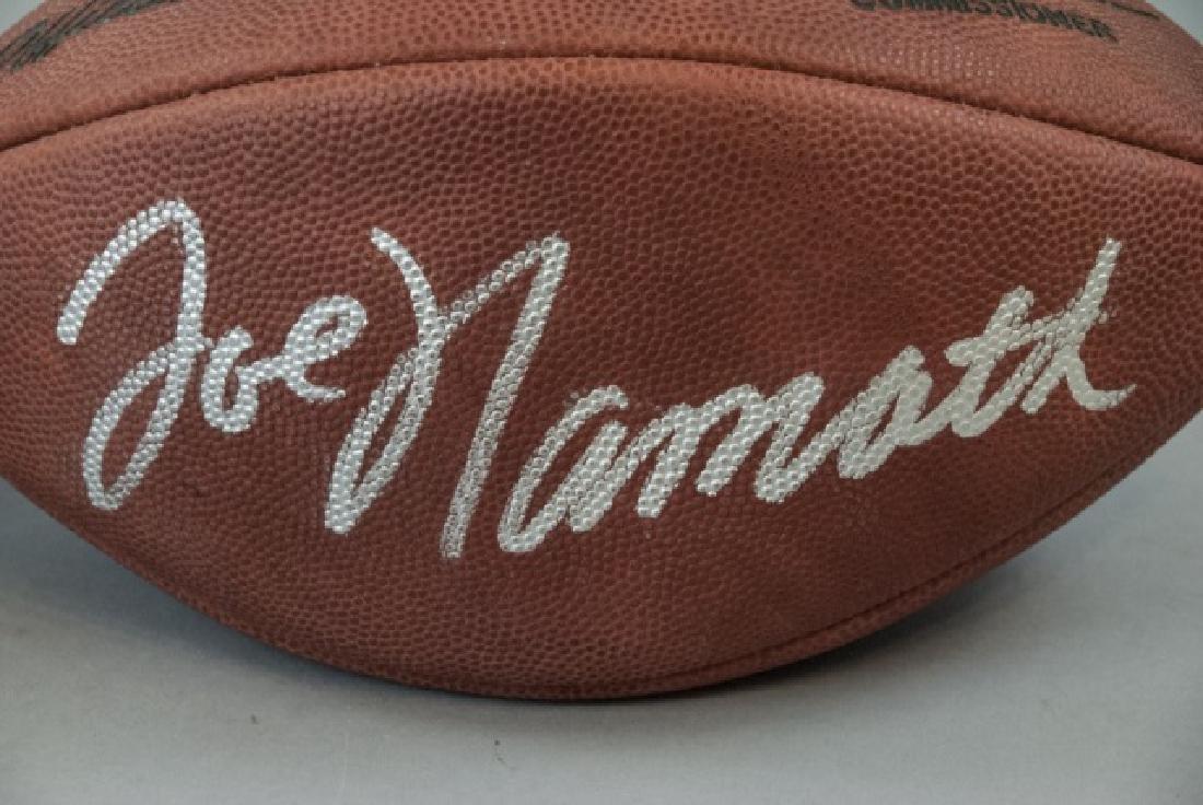 Joe Namath & 2002 Heisman Winner Signed Footballs - 4