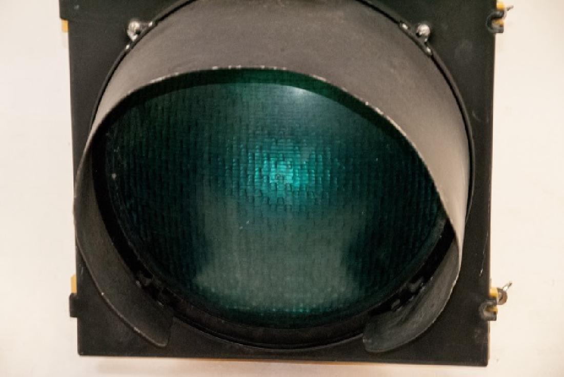 Vintage Authentic Metal Traffic Light - 5