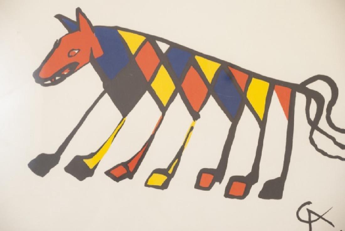 Alexander Calder Framed Lithography Print - 2