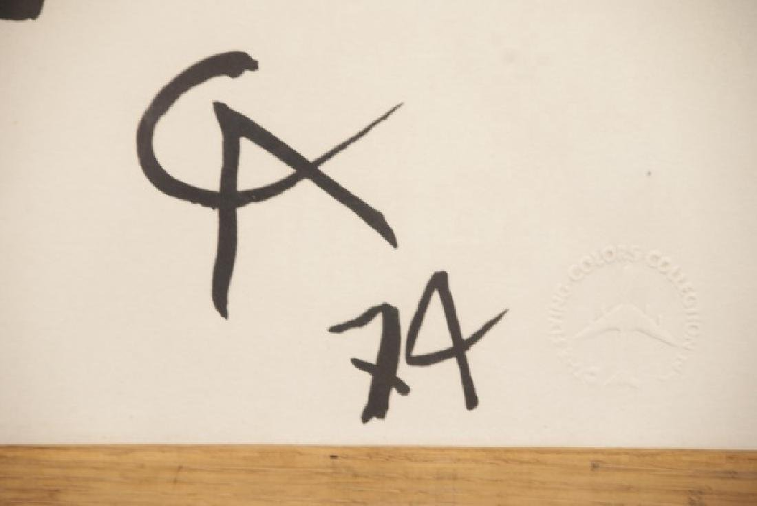Alexander Calder Framed Lithography Print - 3