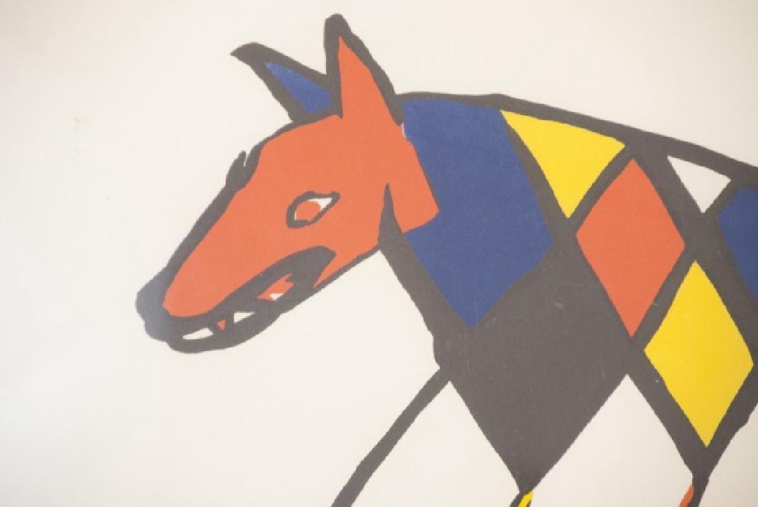 Alexander Calder Framed Lithography Print - 4