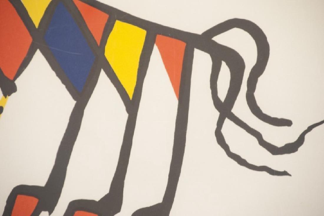 Alexander Calder Framed Lithography Print - 5