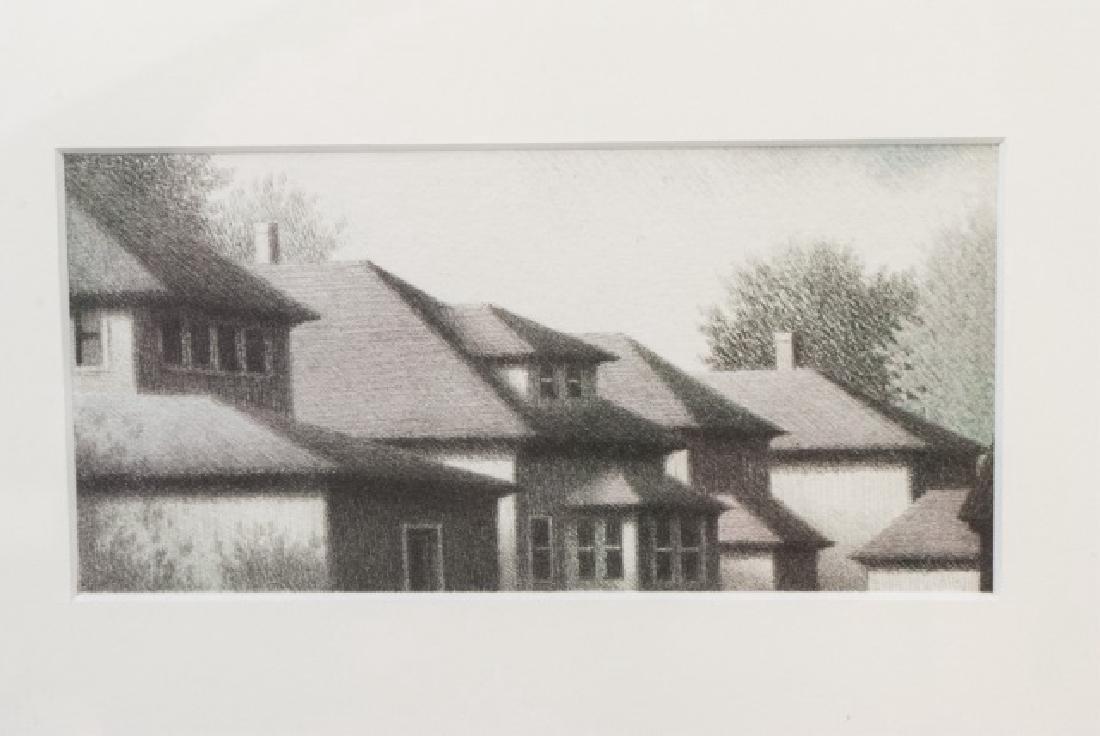 Robert Kipniss (b. 1931) - 2 Framed Prints - 3