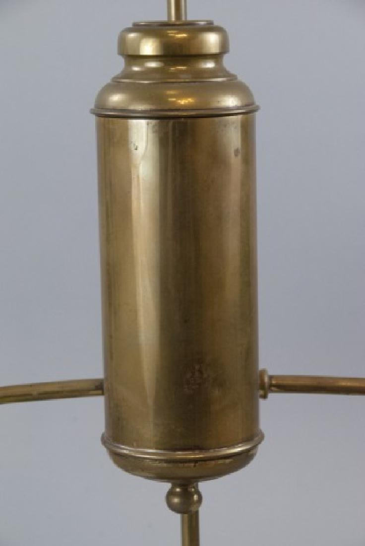 Antique Brass Student Kerosene Lamp - 2