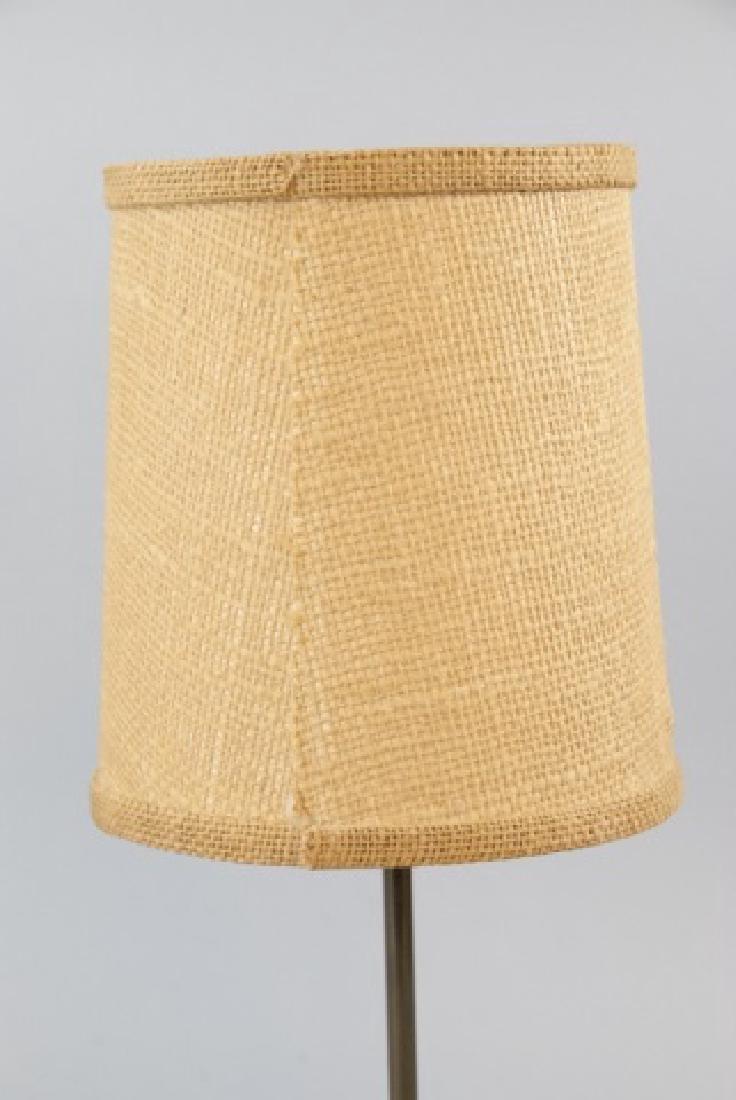 Small Vintage Bronze Lamp W/ Ornate Design - 2