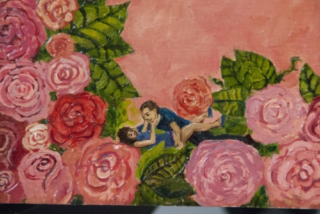 Irene Hardwicke Olivieri Acrylic On Wood Painting - 2