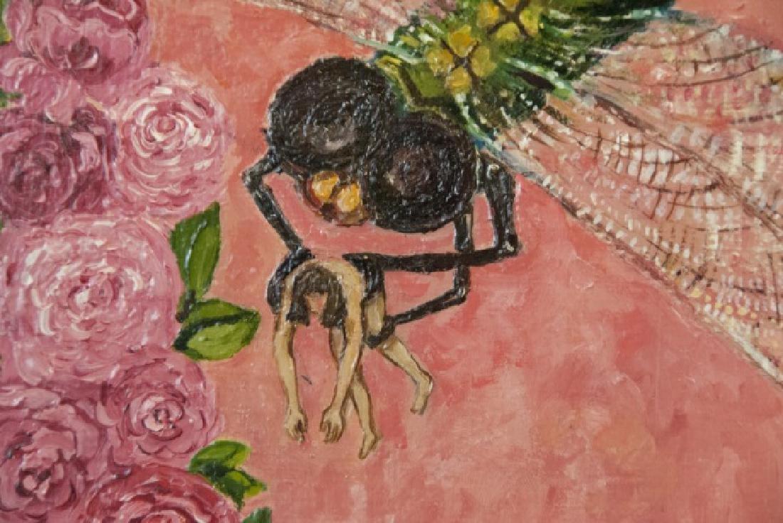 Irene Hardwicke Olivieri Acrylic On Wood Painting - 3