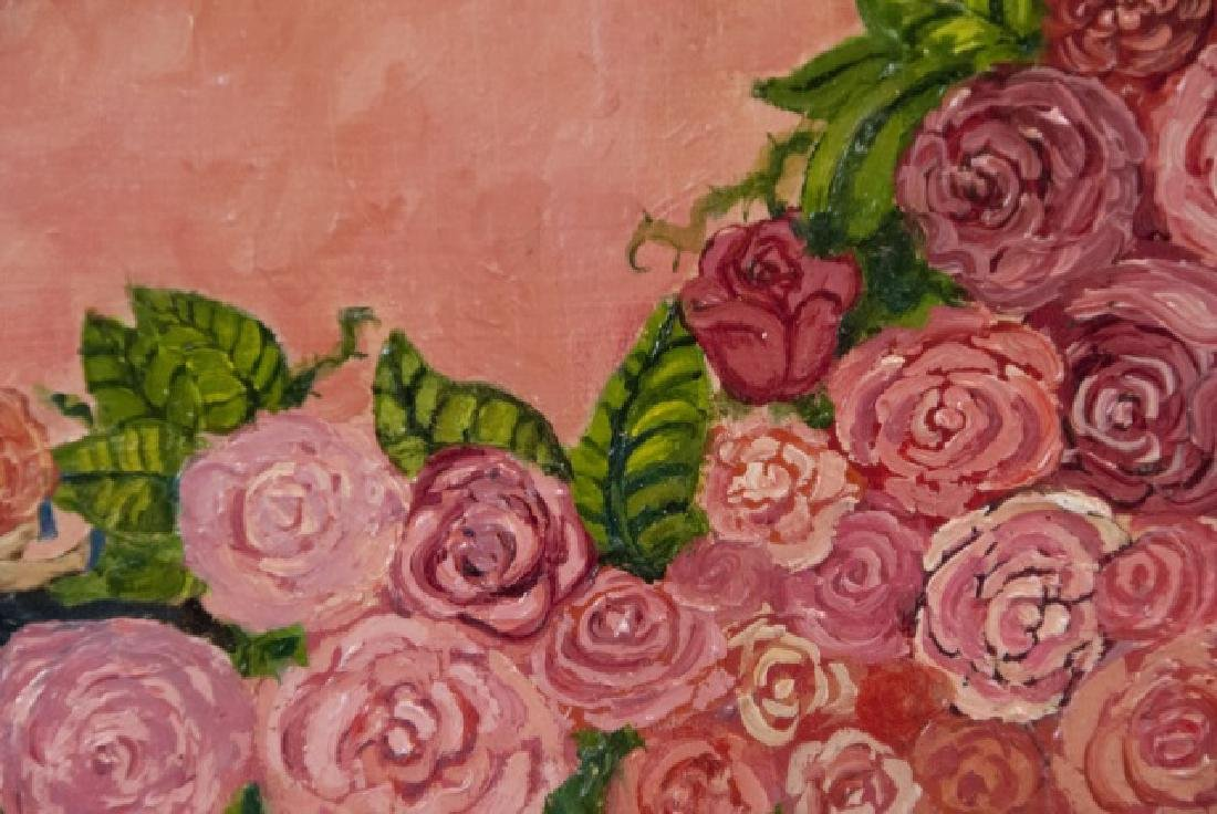 Irene Hardwicke Olivieri Acrylic On Wood Painting - 4