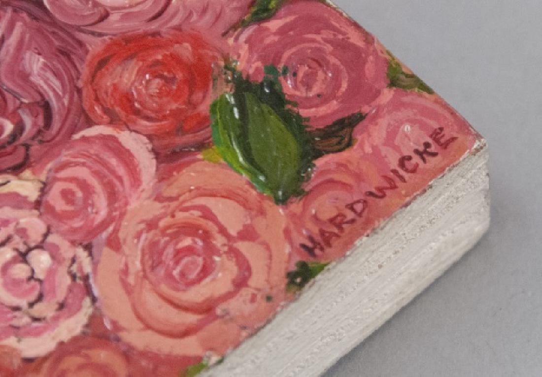 Irene Hardwicke Olivieri Acrylic On Wood Painting - 7