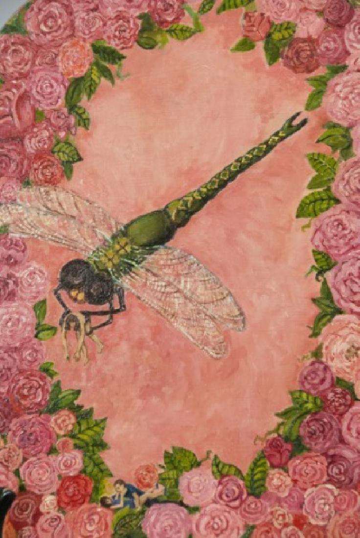 Irene Hardwicke Olivieri Acrylic On Wood Painting - 8