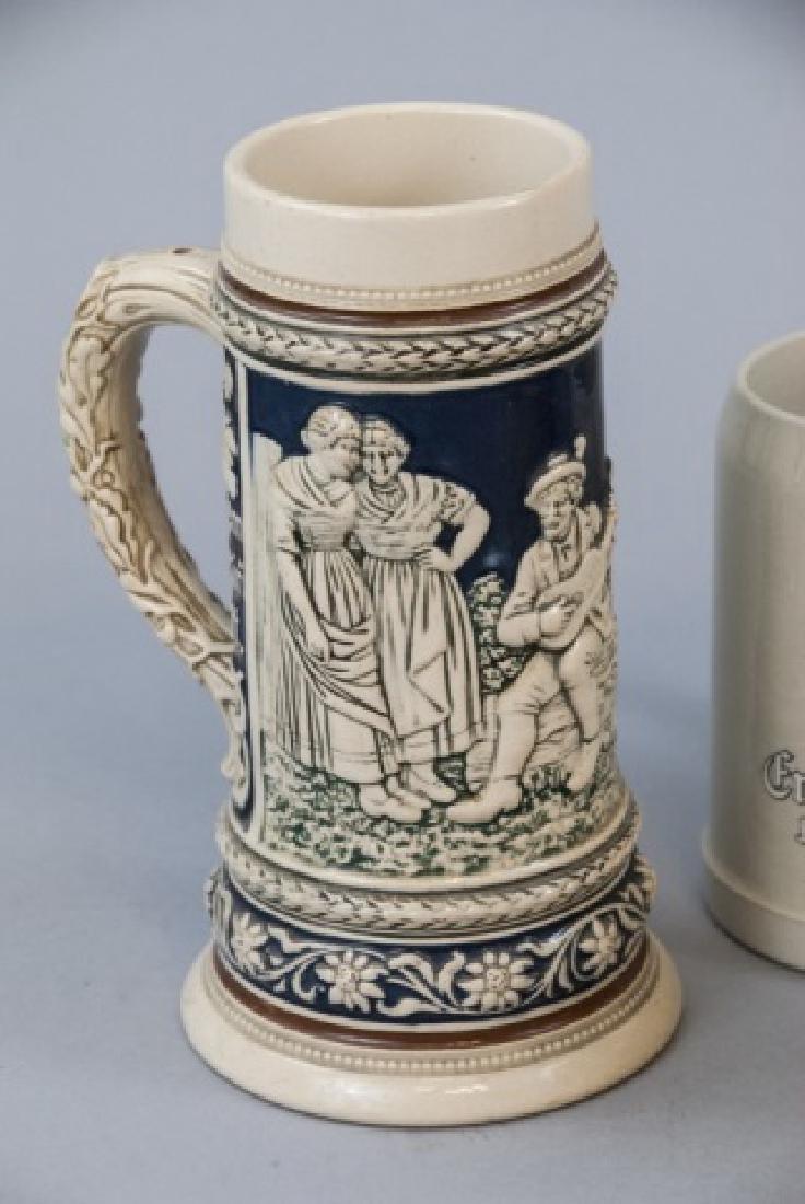 Lot Of Ceramic German Beer Mugs & Steins - 2