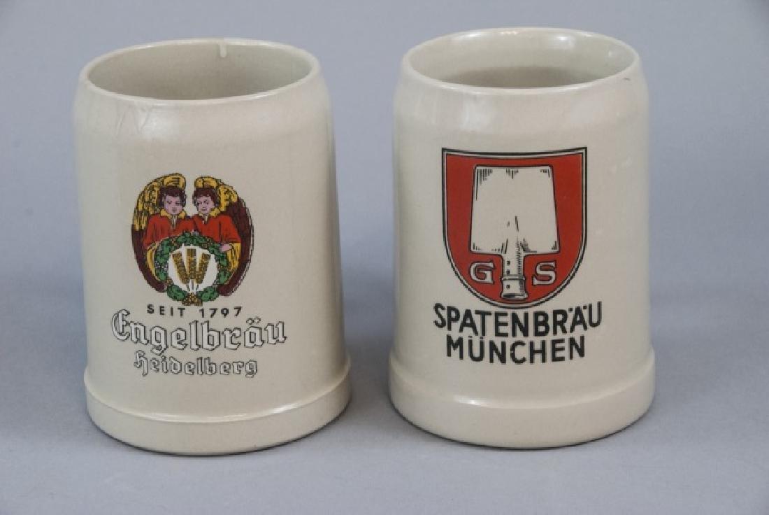 Lot Of Ceramic German Beer Mugs & Steins - 3
