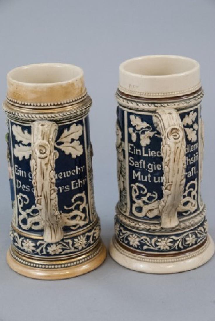 Lot Of Ceramic German Beer Mugs & Steins - 5