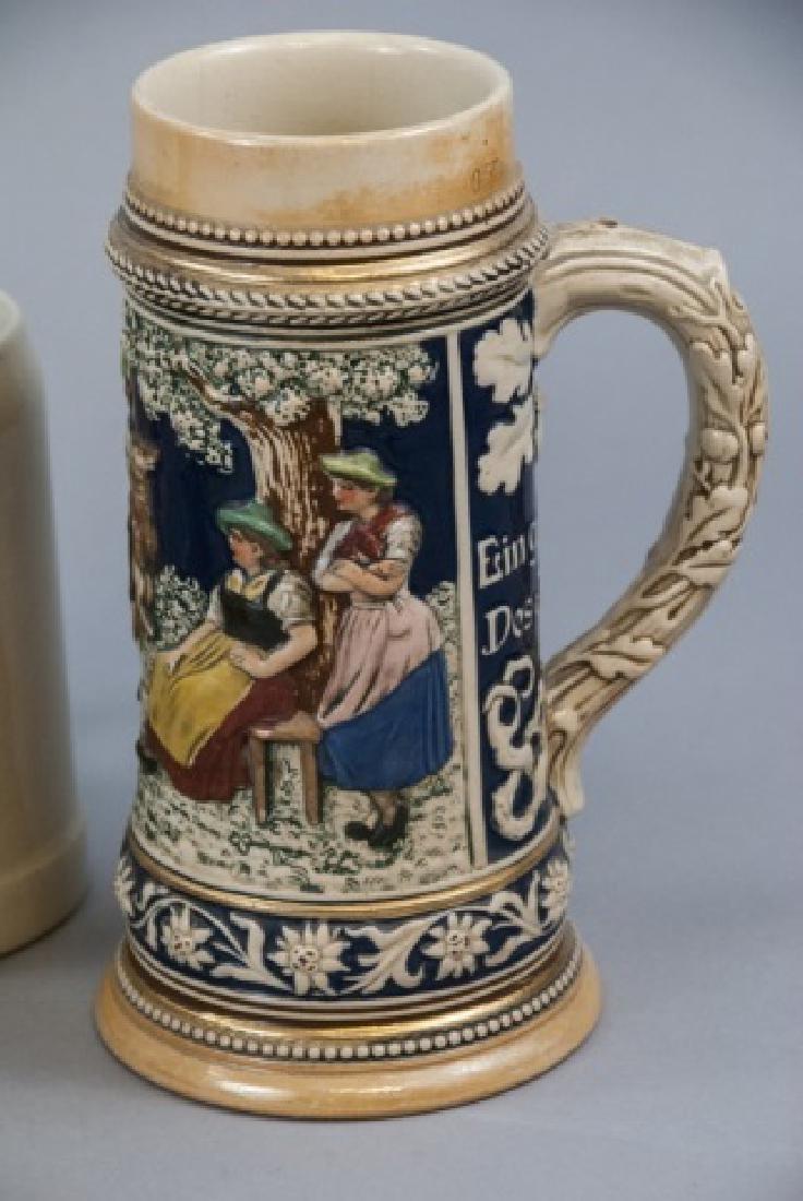Lot Of Ceramic German Beer Mugs & Steins - 8