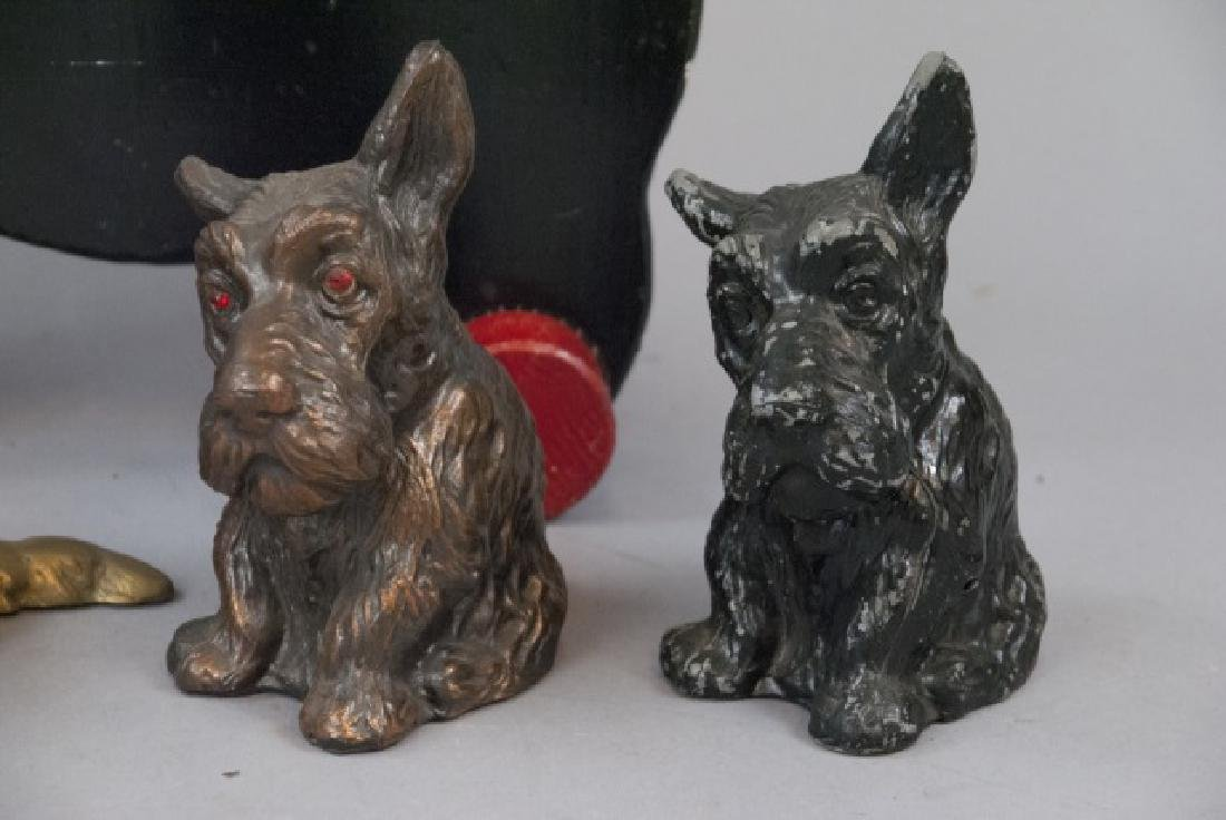 Five Vintage Assorted Scottish Terrier Banks - 4