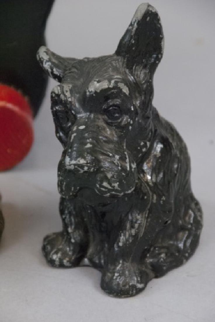 Five Vintage Assorted Scottish Terrier Banks - 6