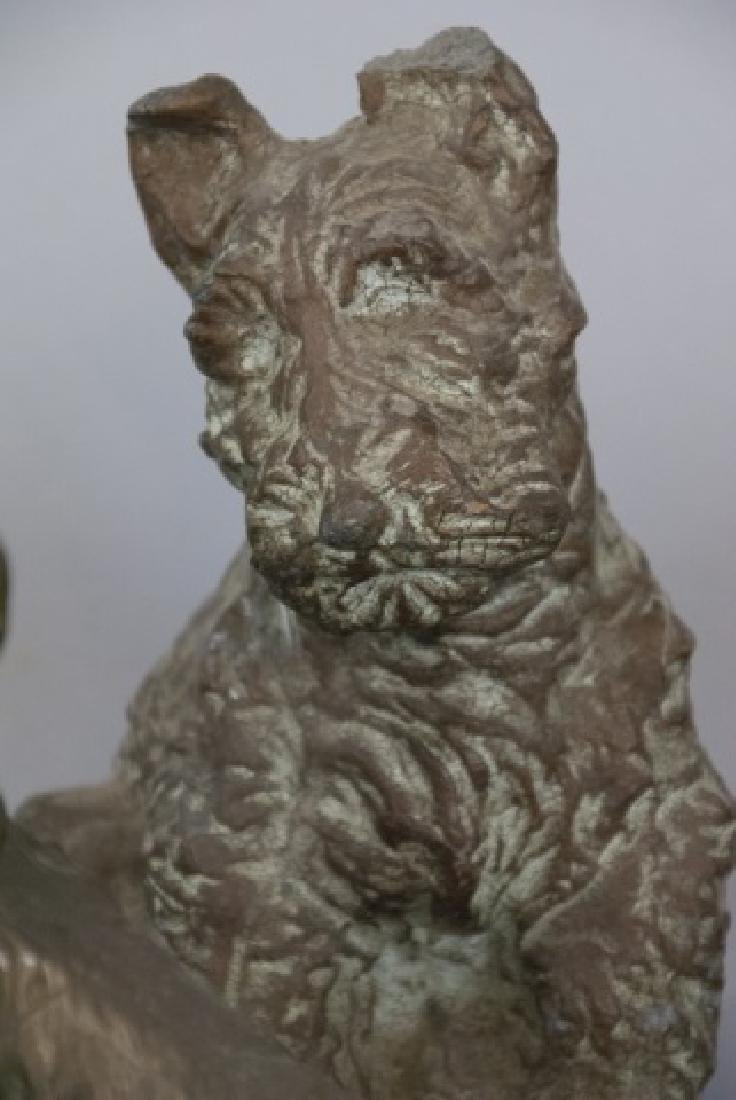 Assorted Lot Of Scottish Terrier Statue Sets - 6