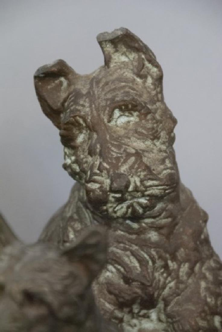 Assorted Lot Of Scottish Terrier Statue Sets - 7