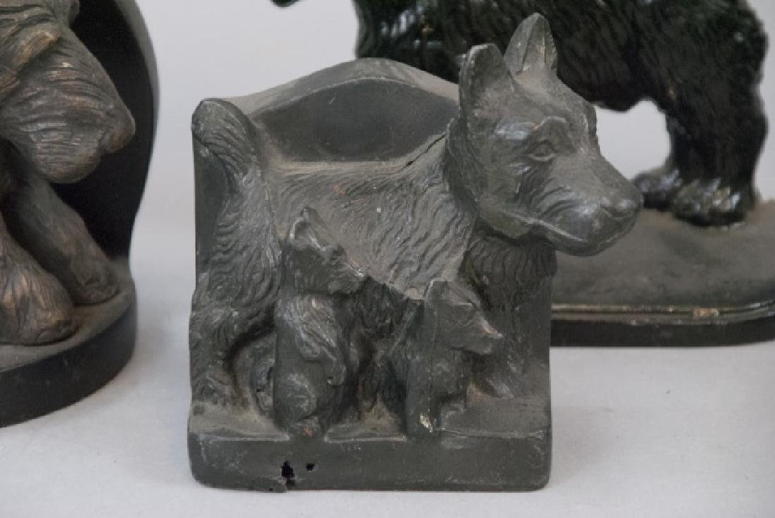 Assorted Lot Of Vintage Scottish Terrier Bookends - 3