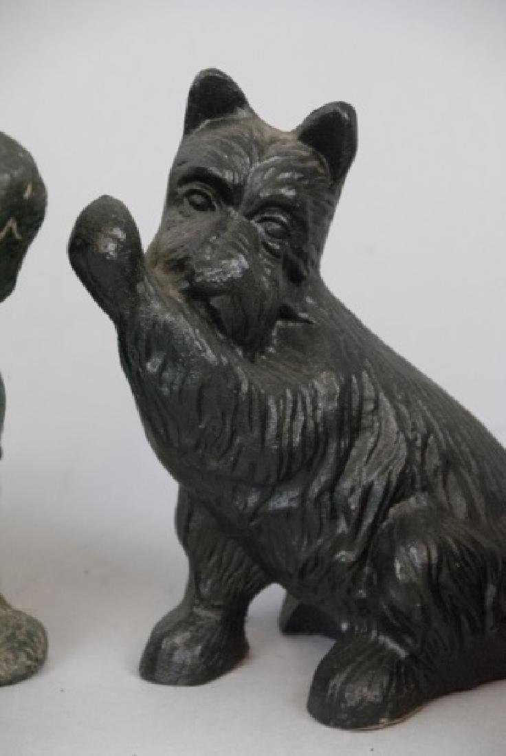 Assorted Lot Of Black Scottish Terrier Statues - 2
