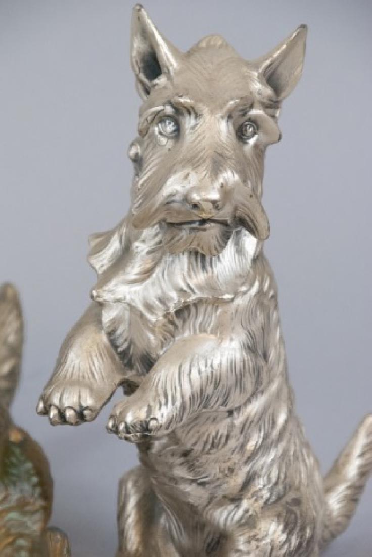 Assorted Lot Of Bronze Scottish Terrier Statues - 5