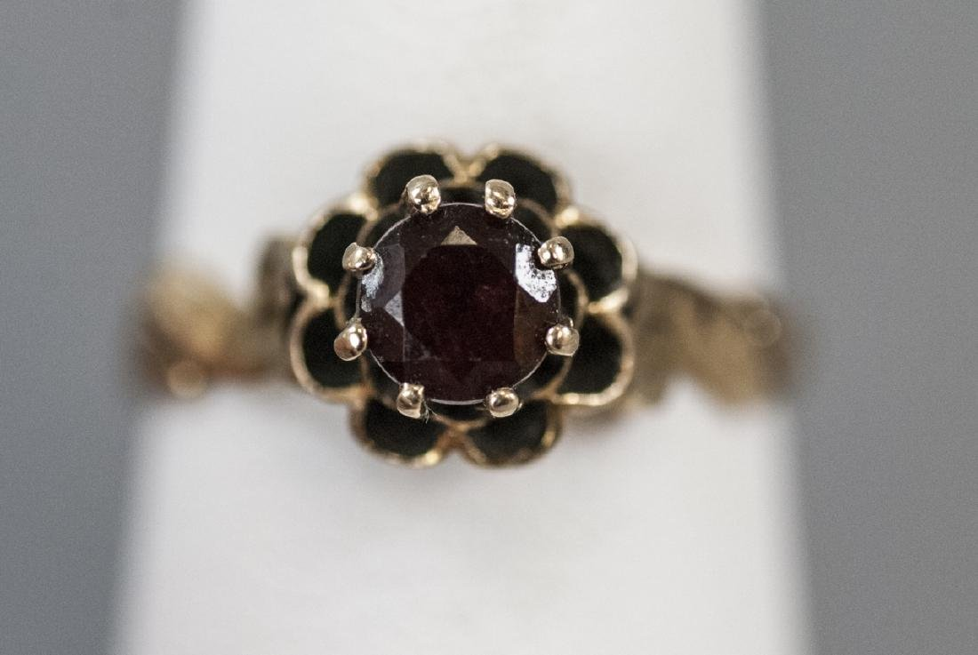 Antique Estate 14kt Yellow Gold Solitaire Ring - 3