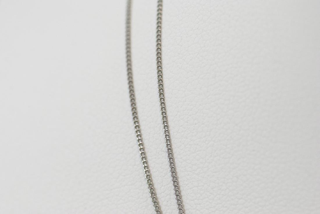Two Estate Platinum 16 Inch Necklace Chains - 3