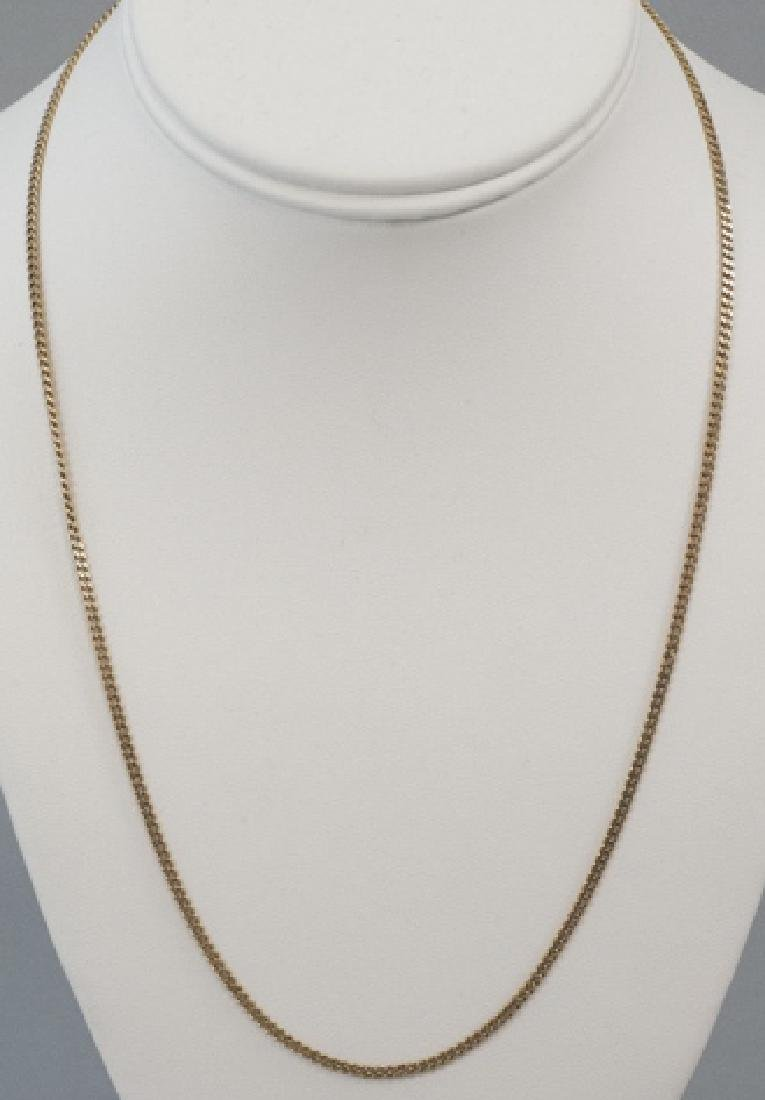 Estate 14kt Yellow Gold Necklace Chain