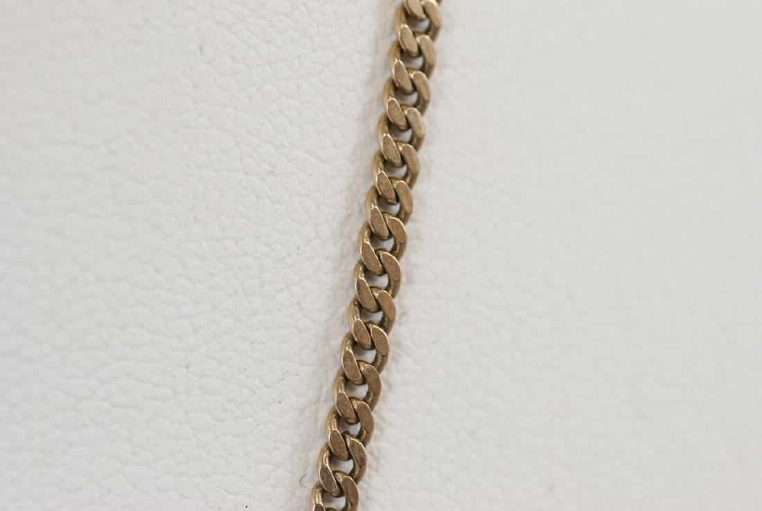 Estate 14kt Yellow Gold Necklace Chain - 3