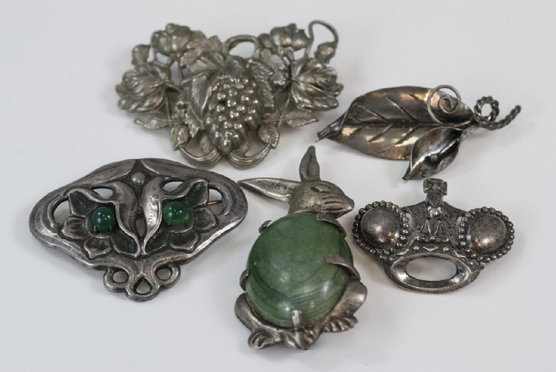 Vintage Sterling & Silver Figural Brooches / Pins