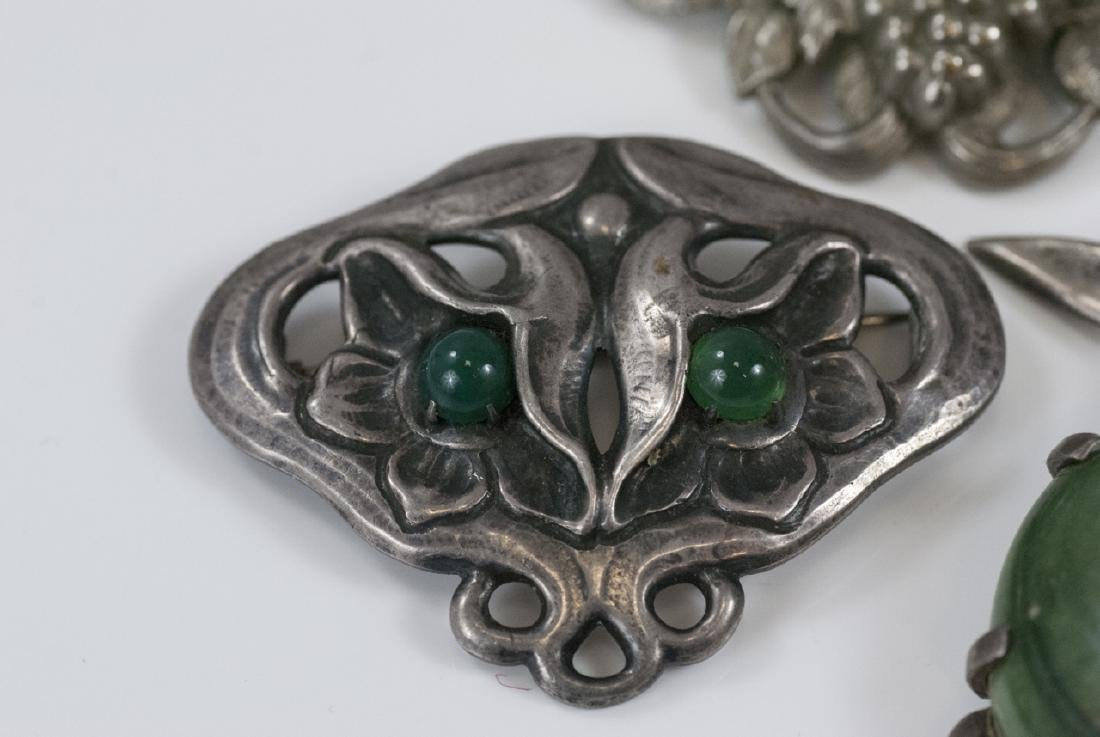 Vintage Sterling & Silver Figural Brooches / Pins - 3
