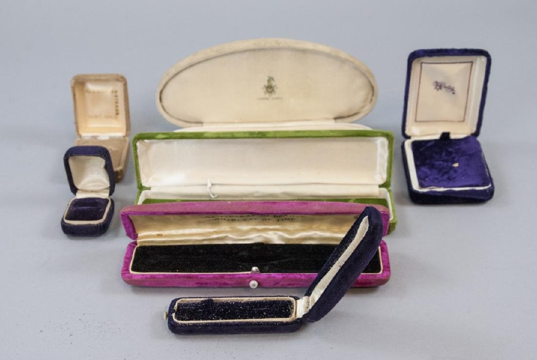 Antique & Vintage Jewelry Store Boxes