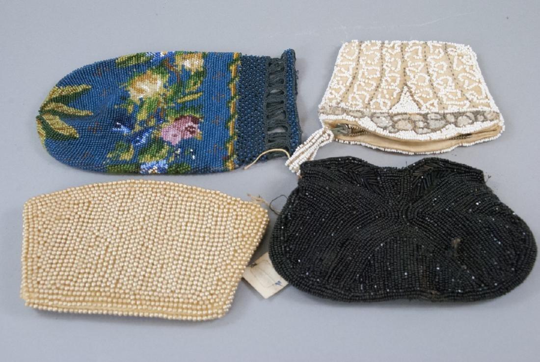 Antique & Vintage Beaded Ladies Hand Bags / Purses
