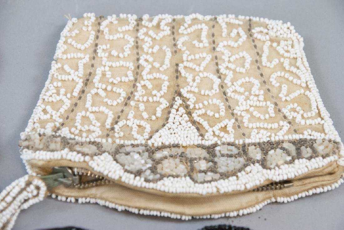 Antique & Vintage Beaded Ladies Hand Bags / Purses - 3