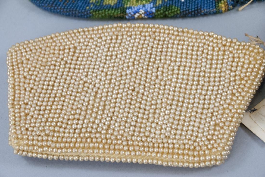 Antique & Vintage Beaded Ladies Hand Bags / Purses - 5