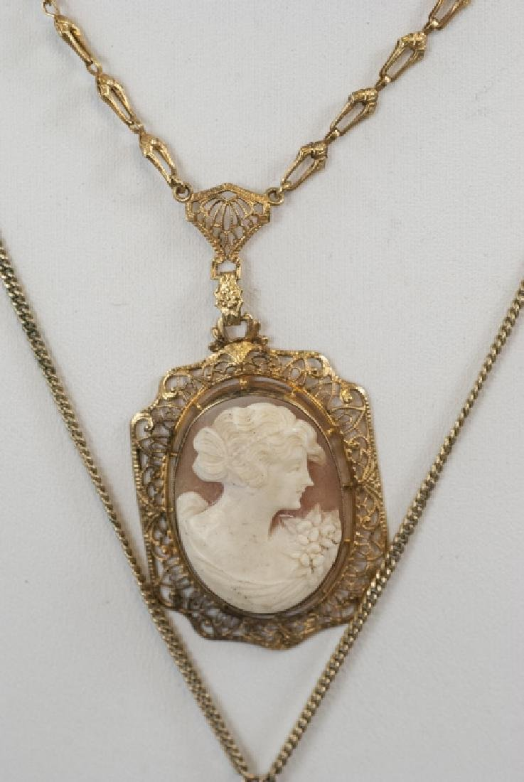 Collection of Five Vintage & Antique Cameos - 2