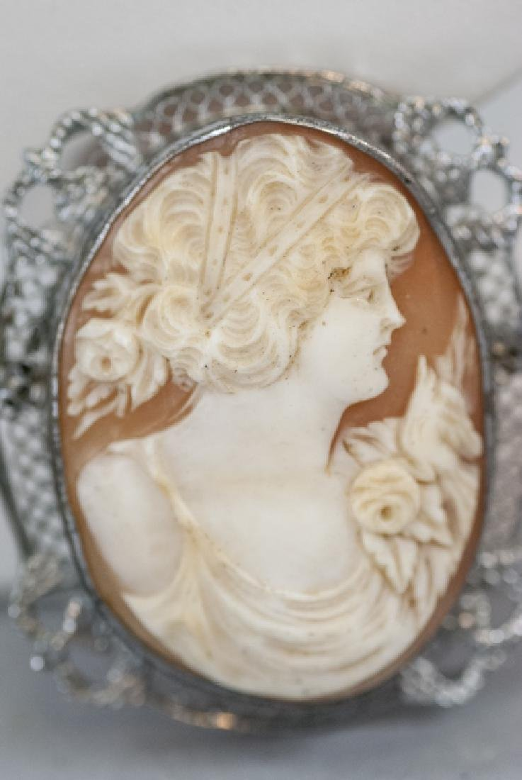 Collection of Five Vintage & Antique Cameos - 4