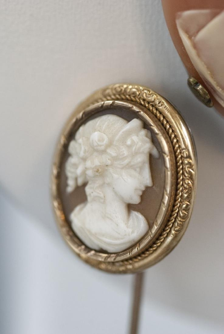 Collection of Five Vintage & Antique Cameos - 5