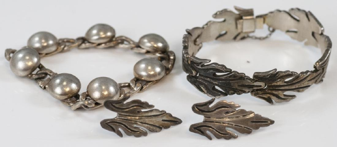 Vintage Mexico & Napier Sterling Silver Jewelry
