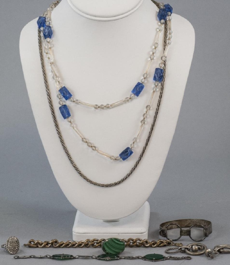 Group Of Antique & Vintage Jewelry & Parts