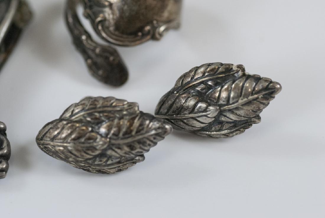 Assorted Antique & Vintage Sterling & Silver - 4
