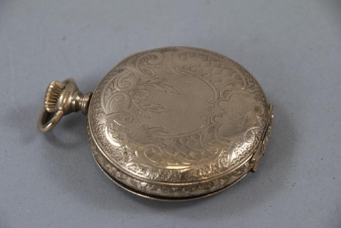 Five Antique Gold Filled Pocket Watches - 4