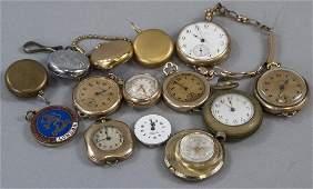 Antique  Vintage Pocket Watches Cases Parts