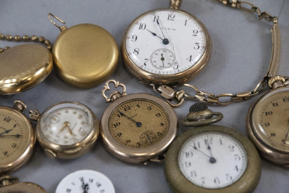 Antique & Vintage Pocket Watches, Cases, Parts - 2