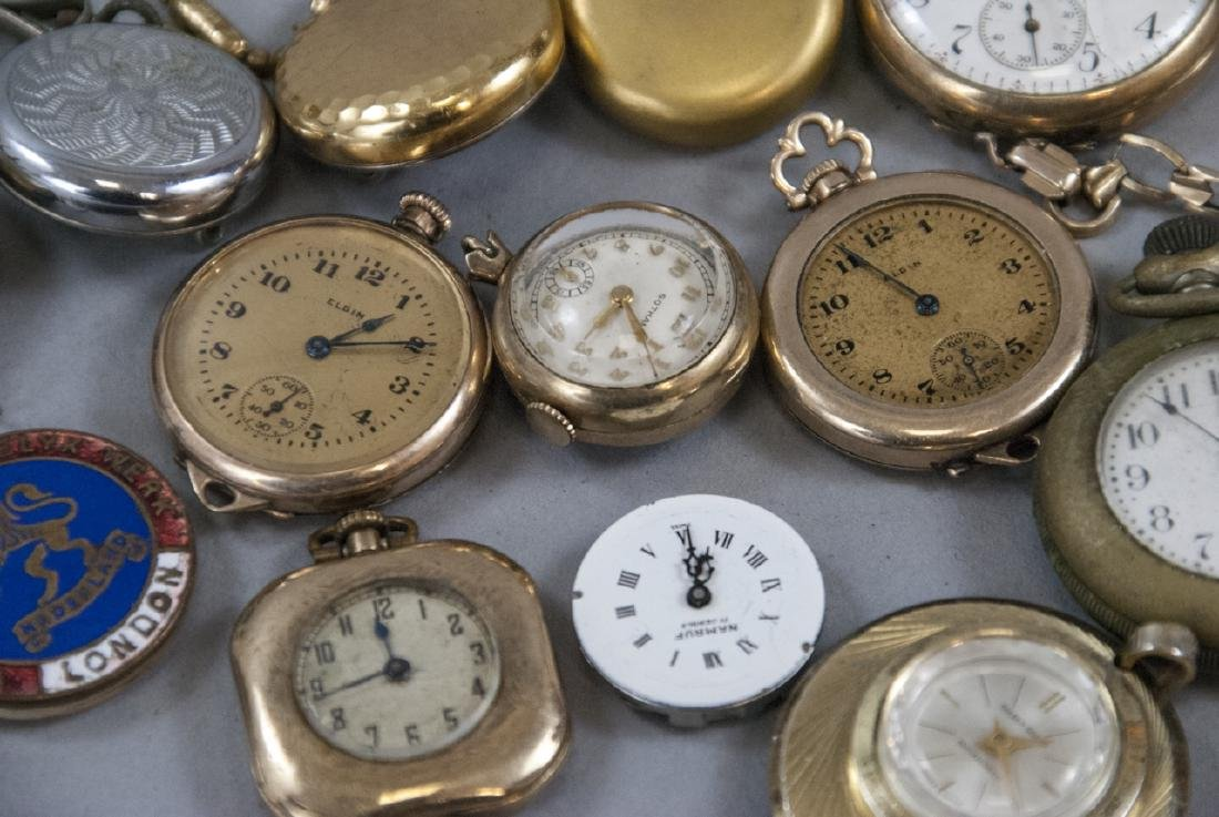 Antique & Vintage Pocket Watches, Cases, Parts - 3