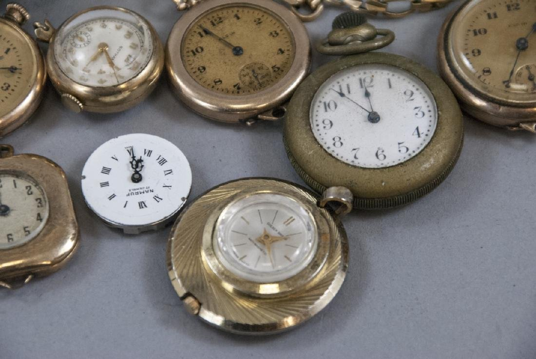 Antique & Vintage Pocket Watches, Cases, Parts - 4